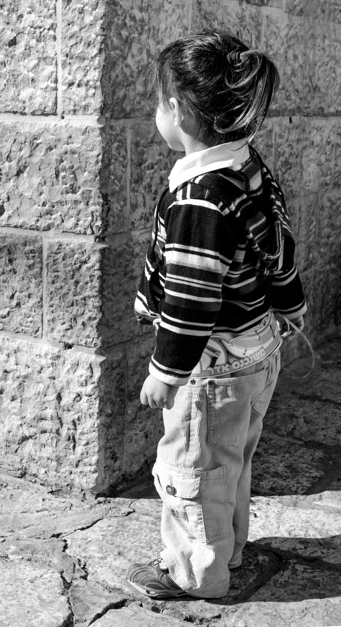 The third in this small series from my trip to Israel. Saw this young princess in Old Jerusalem.