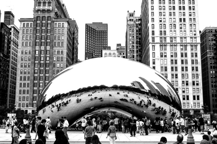 Bean here before and, The Bean has been on this photoblog before as well.