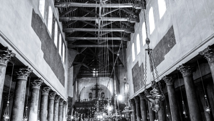 The Church of the Nativity is a basilica located in Bethlehem, Palestinian territories, and is considered to be the oldest continuously operating Christian church in the world.