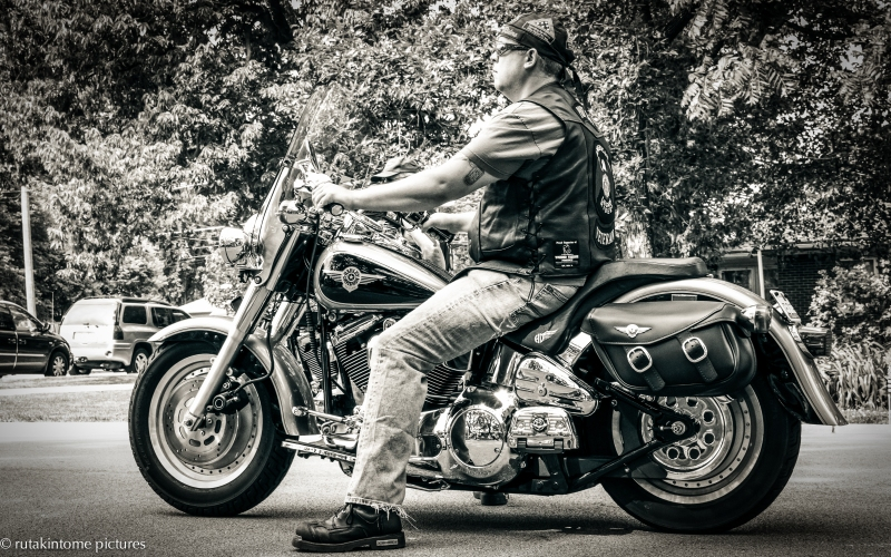 No parade is worth attending if it does not include a Harley. That's my story, and I'm sticking to it!