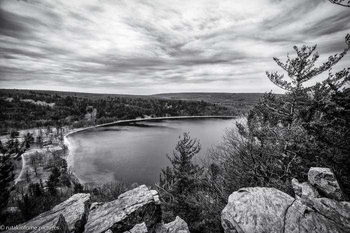 Spent a few days hiking around Devil's Lake in Wisconsin with my oldest son back in April. There are some challenging paths you can hike on the bluffs that surround the lake that are basically made up of giant boulders. This was the first of what we hope will be an annual hiking adventure!