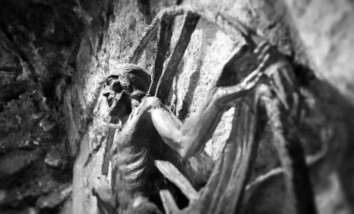 crucifix detail