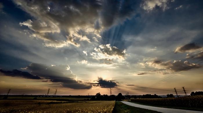 minooka sunset