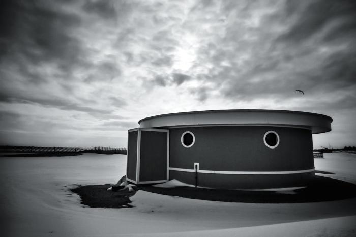quiet winter shore
