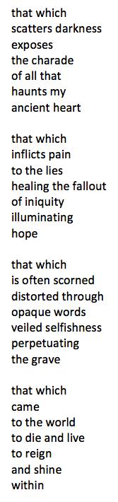 light poem