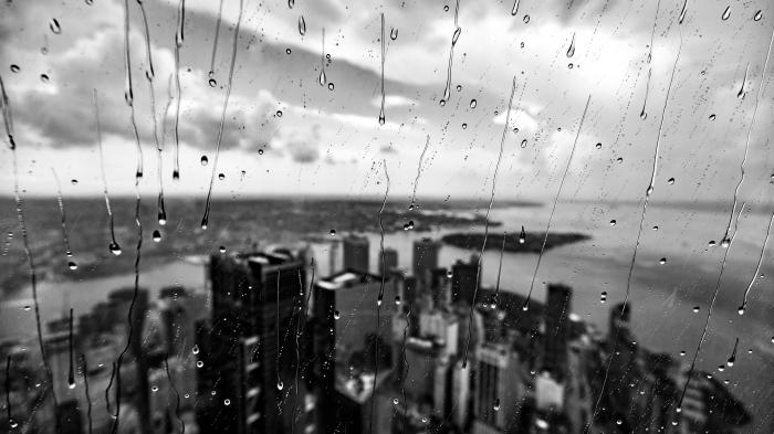 lower manhattan rain